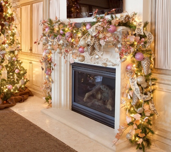 christmas mantel decor ideas for a magical christmas - Christmas Mantel Decorating Ideas