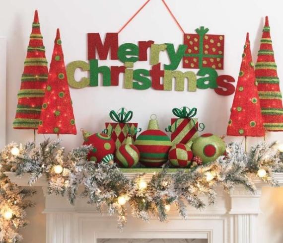 Mantel Decor Ideas For A Magical Christmas (4)