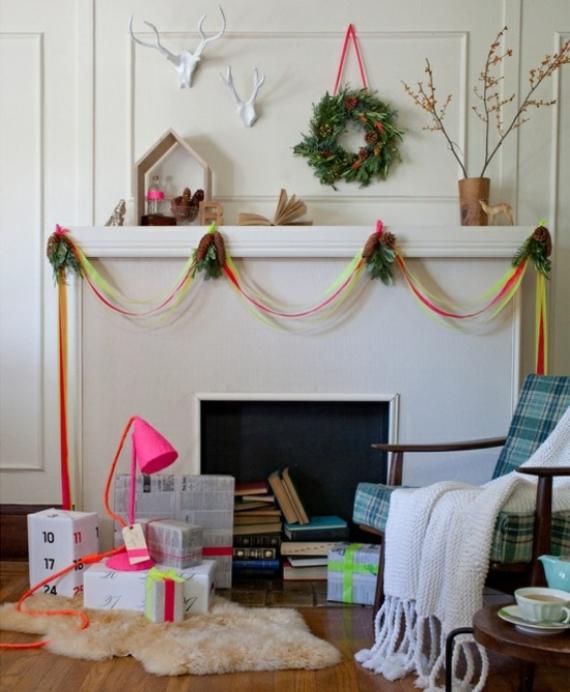 Mantel Decor Ideas For A Magical Christmas (5)