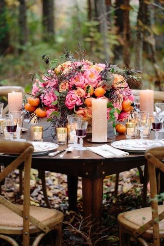25 Stylish Thanksgiving Table Settings - family holiday ...