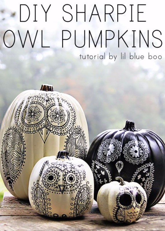 Ways to Decorate for Fall, Halloween and Thanksgiving With Pumpkins (18)