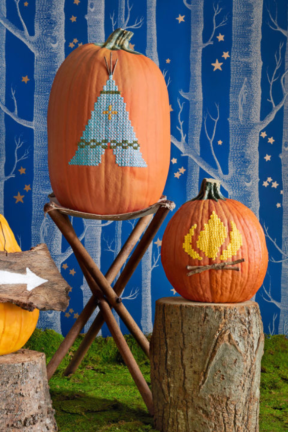 Ways to Decorate for Fall, Halloween and Thanksgiving With Pumpkins (31)