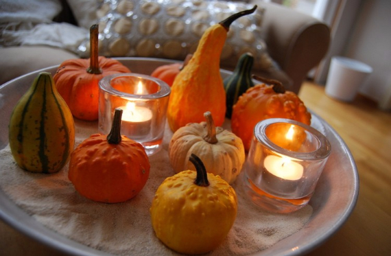 Ways to Decorate for Fall, Halloween and Thanksgiving With Pumpkins (39)