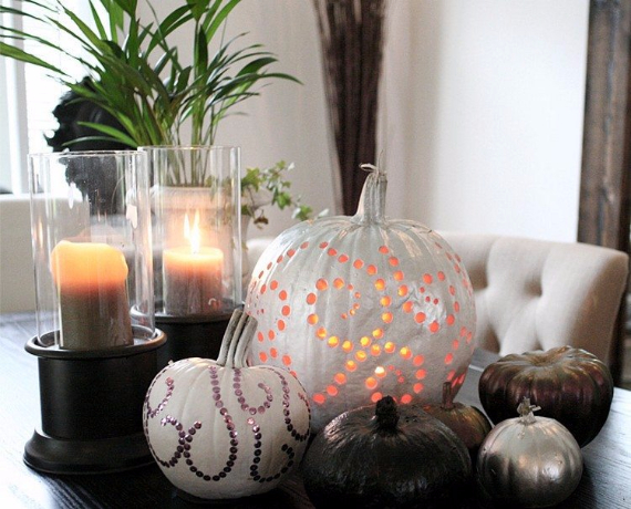 Ways to Decorate for Fall, Halloween and Thanksgiving With Pumpkins (41)