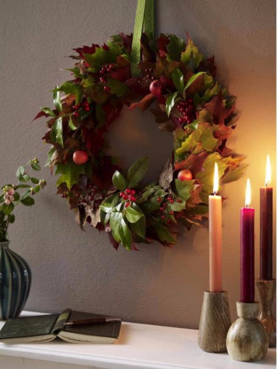 15 Amazing Fall Wreath Ideas For Autumn spirit (13)