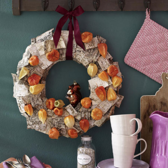 15 Amazing Fall Wreath Ideas For Autumn spirit (3)