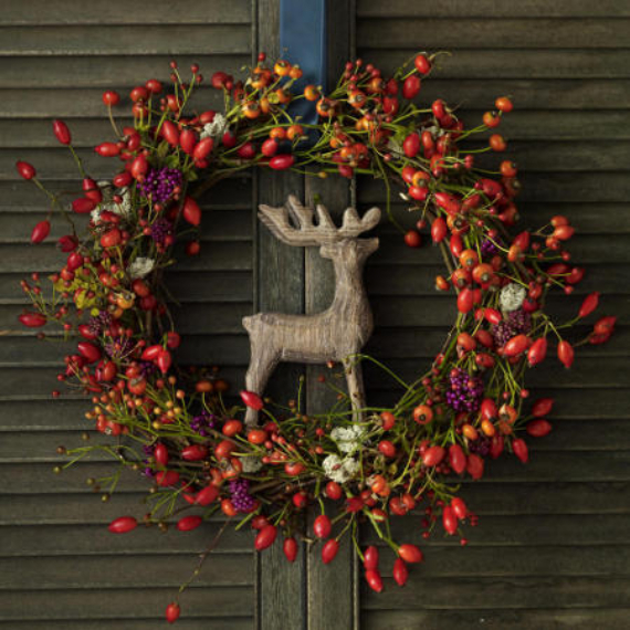 15 Amazing Fall Wreath Ideas For Autumn spirit (9)