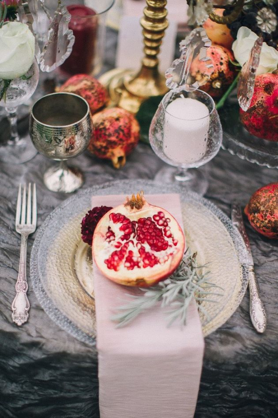 Autumnal Decorating Ideas With Pomegranates (2)