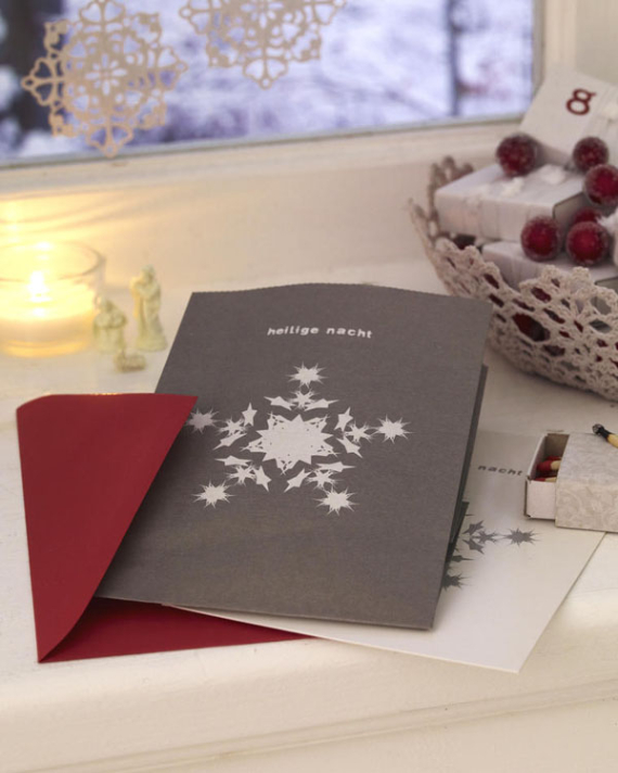 Beautiful DIY & Homemade Christmas Greeting Cards By Mail (10)