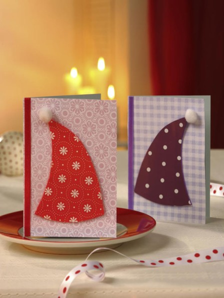 Beautiful Diy Amp Homemade Christmas Greeting Cards By Mail