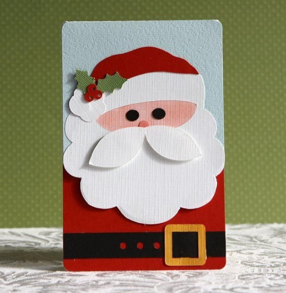 Beautiful DIY & Homemade Christmas Greeting Cards By Mail (3)