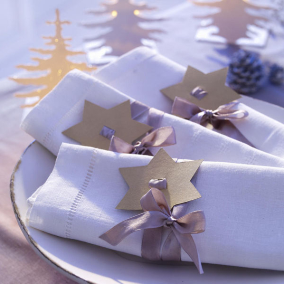 DIY Christmas Table Setting& Centerpieces Ideas (1)