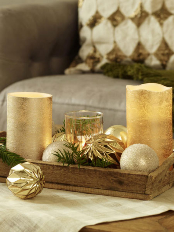 DIY Christmas Table Setting& Centerpieces Ideas (10)