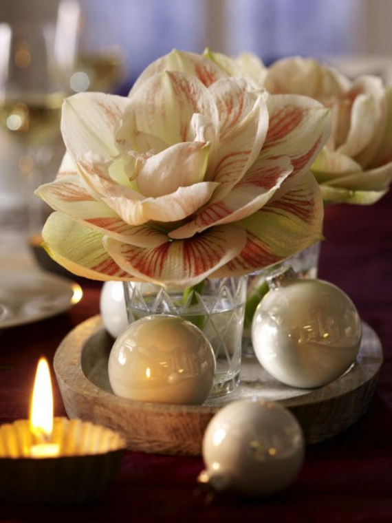 DIY Christmas Table Setting& Centerpieces Ideas (28)