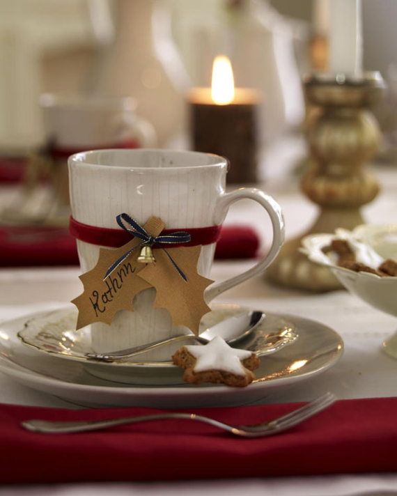 DIY Christmas Table Setting& Centerpieces Ideas (42)