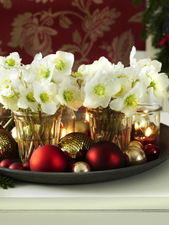 DIY Christmas Table Setting& Centerpieces Ideas (5)