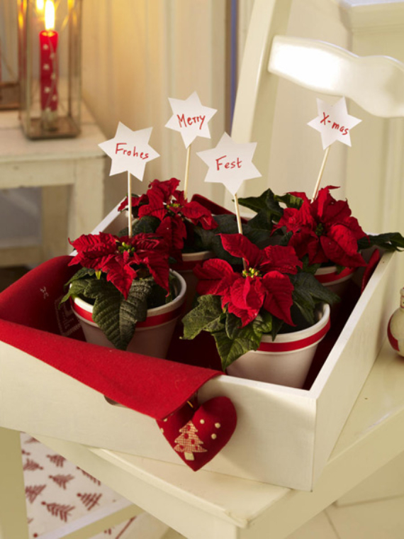 DIY Christmas Table Setting& Centerpieces Ideas (6)
