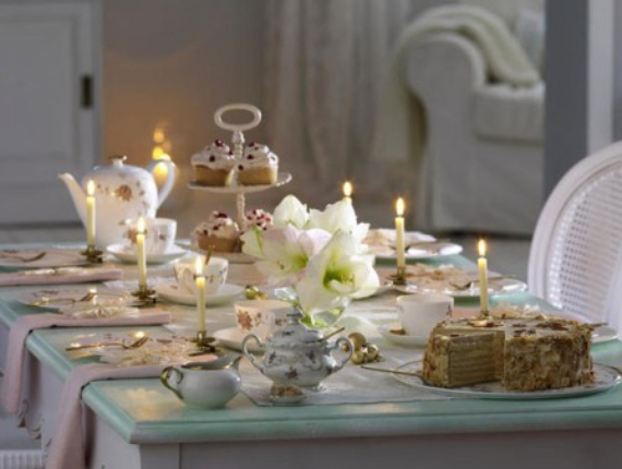 DIY Christmas Table Setting& Centerpieces Ideas (9)