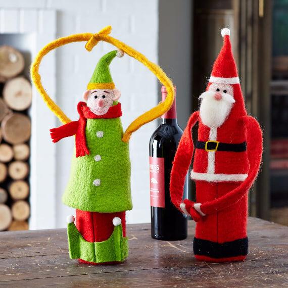 Felt Christmas Crafts (11)