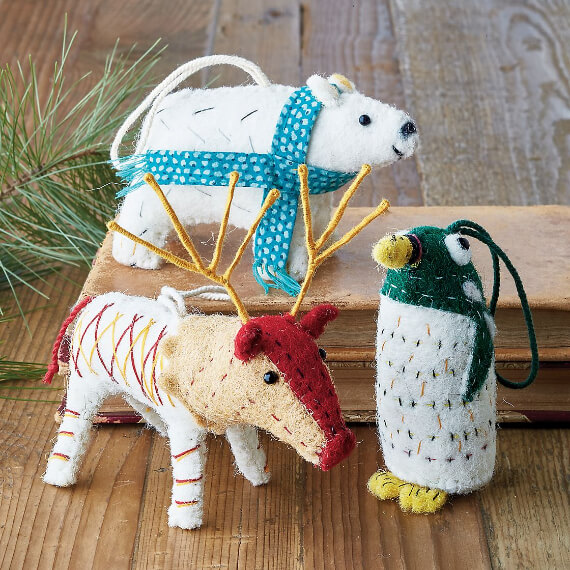 Felt Christmas Crafts (1)