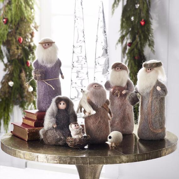 Felt Christmas Crafts (13)