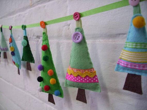 Felt Christmas Crafts (18)