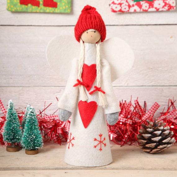 Felt Christmas Crafts (21)