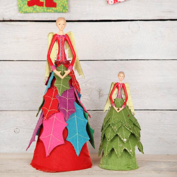 Felt Christmas Crafts (22)