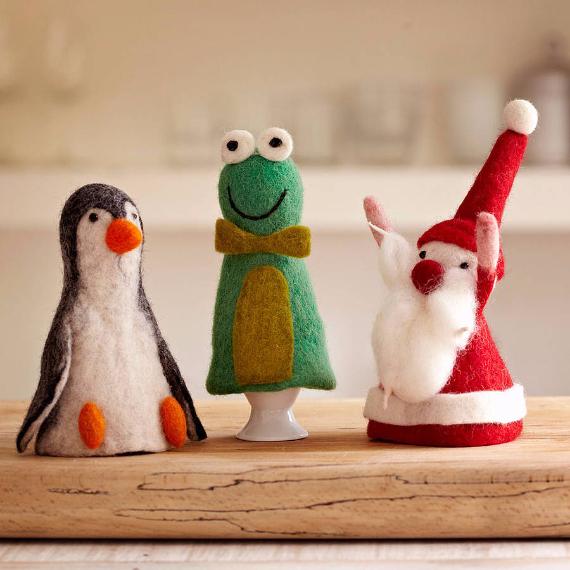 Felt Christmas Crafts (28)