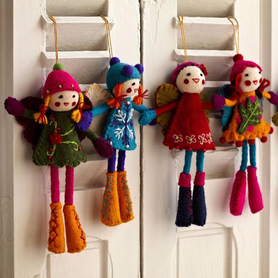 Felt Christmas Crafts (29)