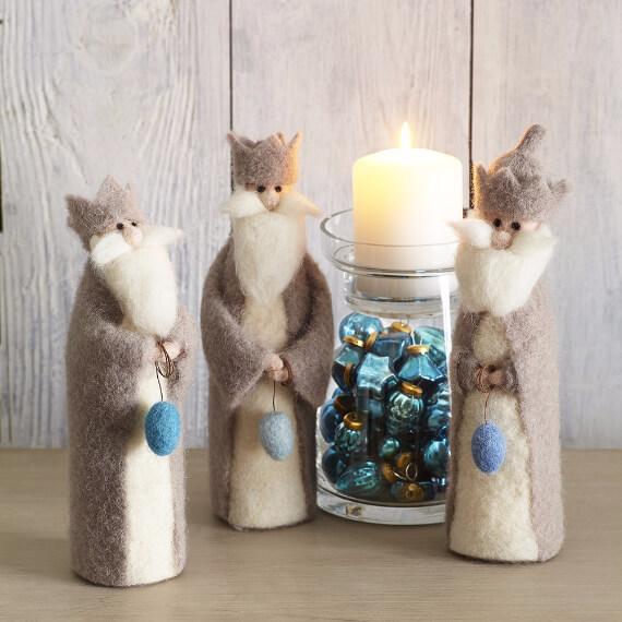 Felt Christmas Crafts (6)