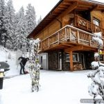 Perfect Ski Retreat in Big Sky, Montana: The Luxury Chalet Le Vieux Bisse
