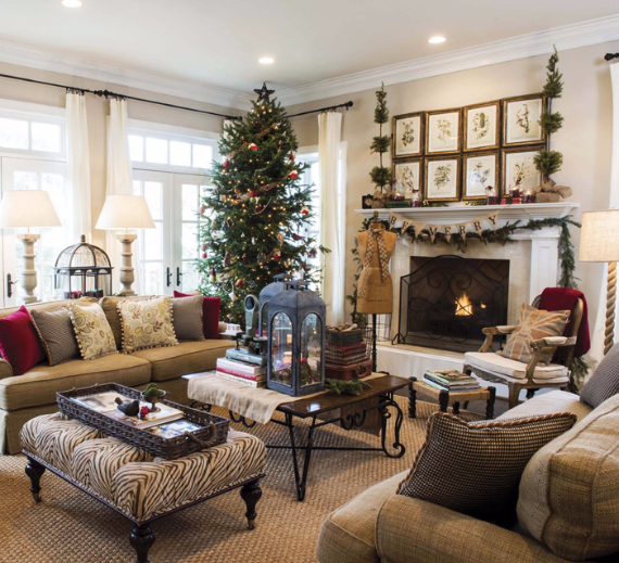 Home Decoration: 30 Romantic Home Ideas: Christmas Decor Galore