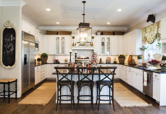 Romantic Home Ideas Christmas Decor Galore (26)