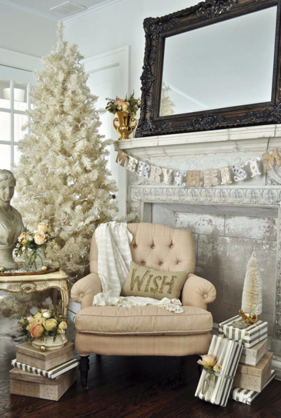 Romantic Home Ideas Christmas Decor Galore (28)