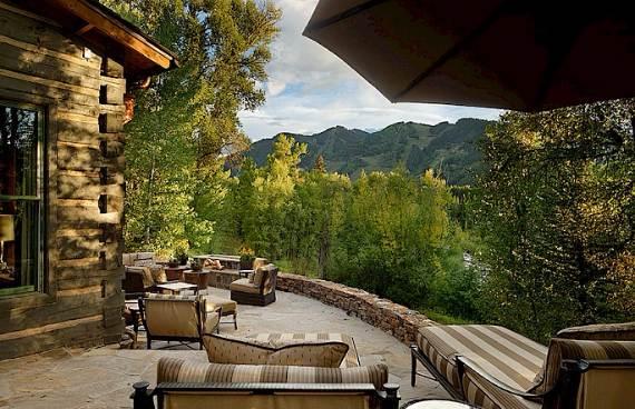 charming-roaring-fork-log-cabin-residence-7