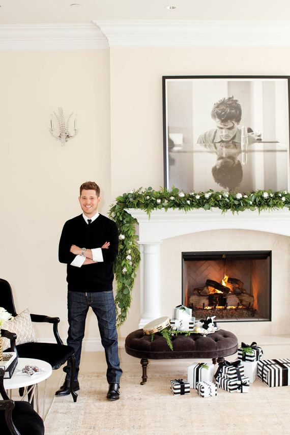 Take a Peek at Michael Bublل's Sleek and Elegant 'Christmas' Home (11)