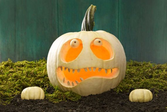 30 Handmade Halloween Pumpkin Craft Decoration Ideas (2)