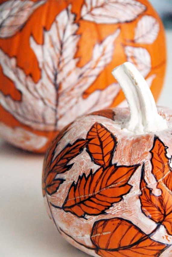 30 Handmade Halloween Pumpkin Craft Decoration Ideas (3)