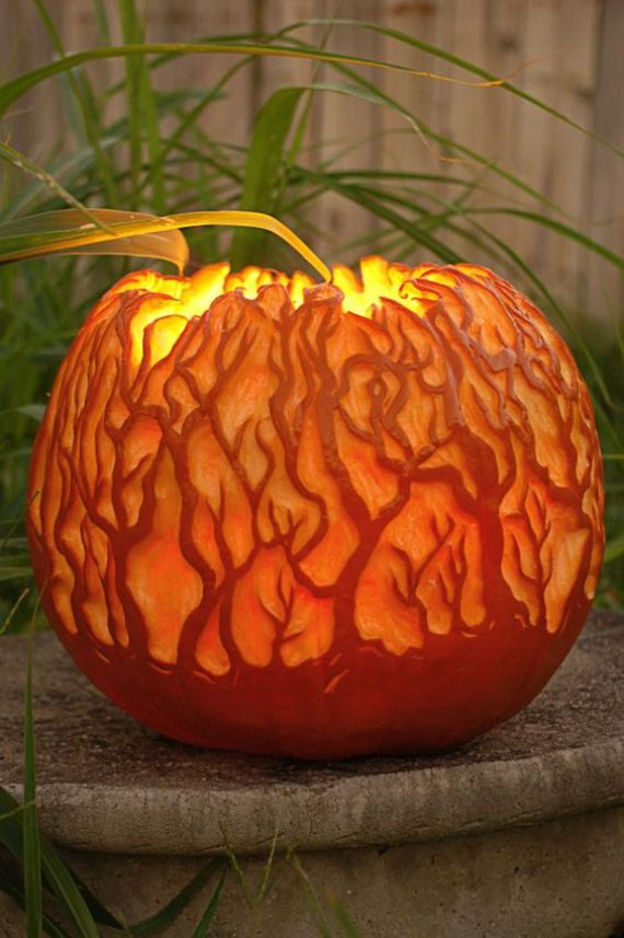 30 Handmade Halloween Pumpkin Craft Decoration Ideas