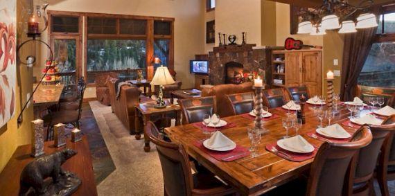 Bear Grande Chalet Colorado Winter Vacation (17)