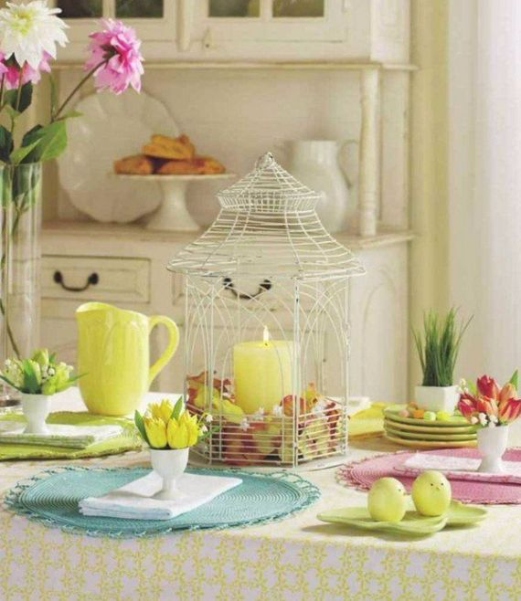 Creative Romantic Ideas for Easter Decoration For A Cozy Home (12)