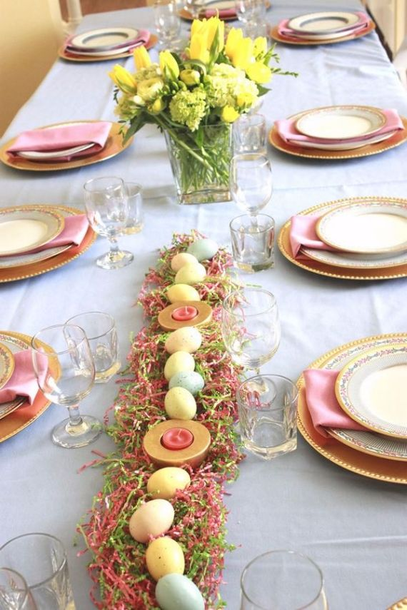 Creative Romantic Ideas for Easter Decoration For A Cozy Home (19)