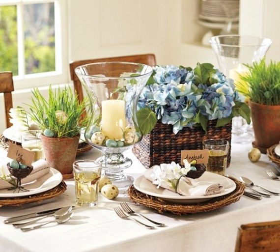 Creative Romantic Ideas for Easter Decoration For A Cozy Home (20)