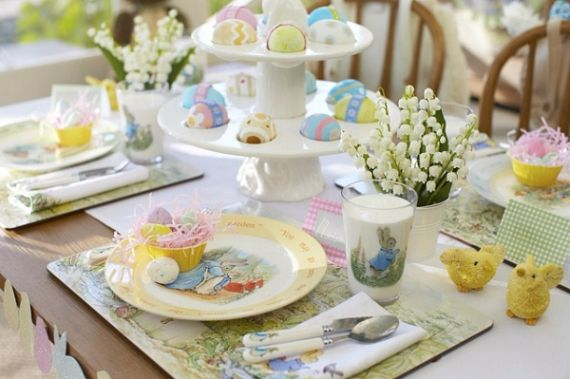 Creative Romantic Ideas for Easter Decoration For A Cozy Home (24)
