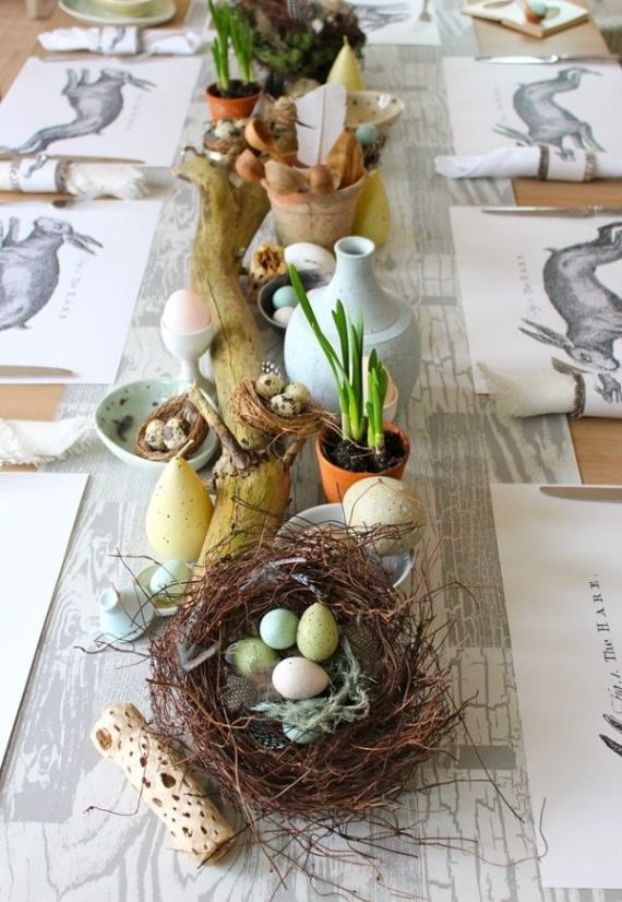 Creative Romantic Ideas for Easter Decoration For A Cozy Home (32)