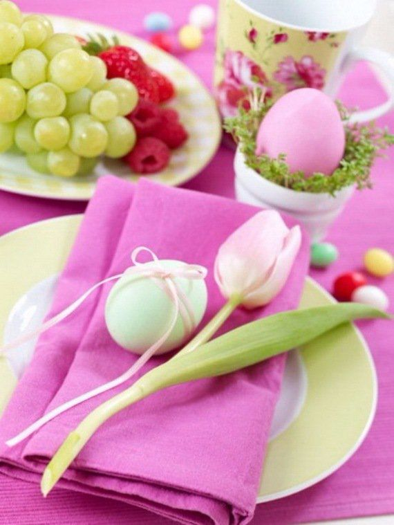 Creative Romantic Ideas for Easter Decoration For A Cozy Home (40)