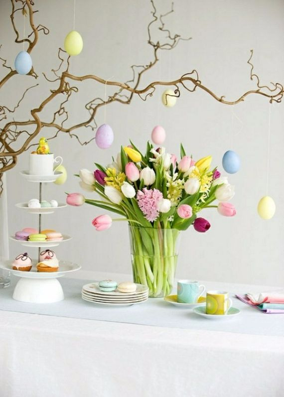 Creative Romantic Ideas for Easter Decoration For A Cozy Home (52)