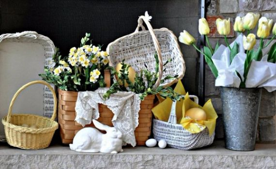 Creative Romantic Ideas for Easter Decoration For A Cozy Home (56)