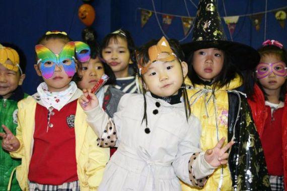 Halloween in Koria